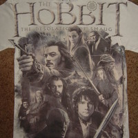The Hobbit Desolation of Smaug Hollen Amarth Front Only Sublimation Print Shirt