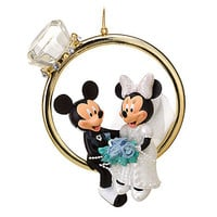 Disney Minnie and Mickey Mouse Ornament | Disney Store