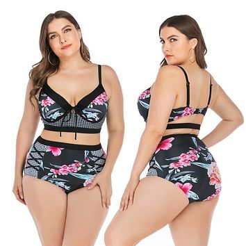 Sexy Floral Bathing Suits