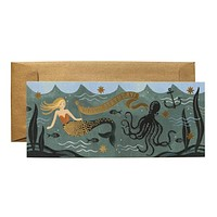 Under The Sea Mermaid Birthday Card