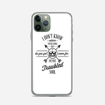 Fall Out Boy Lyric Collage iPhone 11 Pro Case