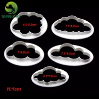 Birthday  Decoration  Plastic  Cloud  Cookie  Cutter