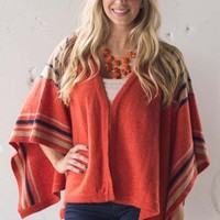 Traveling West Poncho