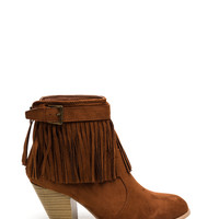 Love At First Fringe Booties