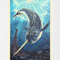 Narwhal Poster - Urban Outfitters