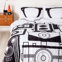 Worth a Thousand Worlds Duvet Cover in Twin/Twin XL | Mod Retro Vintage Decor Accessories | ModCloth.com