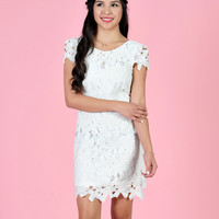 Embroidered Sheath Dress - The Snooki Shop