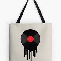 'Liquid Sound' Tote Bag by Dina June Toomey