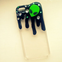 iPhone 5/5s iPhone 5c Alien Slime Decoden Phone Case. Kawaii, Cute, Creepy Can be made for ANY phone
