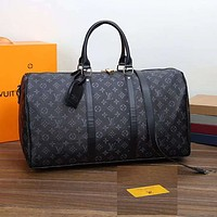 Louis Vuitton LV Luggage Bag Travel Bag Fashion Big Bag Print Tote Handbag-3