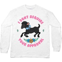 Black Sheep Doesn't Require Your Approval -- Unisex Long-Sleeve