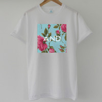 ANDCLOTHING — Vibrant Rose AND Tee