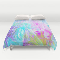 Morning Song Duvet Cover by lillianhibiscus