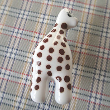 Giraffe Kids Dresser Drawer Knobs Pulls Handles / Childrens Drawer Knob Pull Handles Animal / Baby Cabinet Handle Pulls Hardware