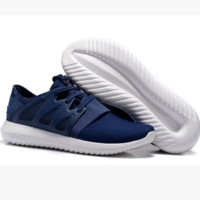 ADIDAS Fashion Sneakers Sport Shoes Tubular Viral Sneakers Blue