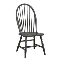 Carolina Classic Cottage  Windsor Chair, Antique Black