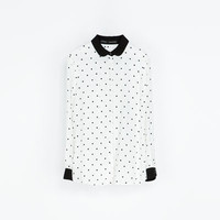 COMBINED SHIRT - STYLE BLOUSE - Woman - NEW THIS WEEK | ZARA United States
