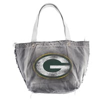 Green Bay Packers NFL Vintage Denim Tote