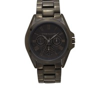 Vince Camuto Black Multi-Function Watch