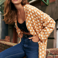 Cooperative Blanche Polka Dot Blazer   Urban Outfitters