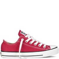 Converse Converse Chuck Taylor All Star Shoes (M9696) Low Top In Red, Size: 7.5 D(M) Us