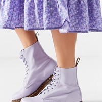 Dr. Martens Pascal Virginia 8-Eye Purple Combat Boot | Urban Outfitters