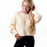 """Strabo"" Chunky Knit Sweater"