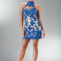 PRIMA C1510 Lace Homecoming Cocktail Dress