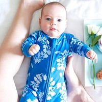 Infant Jumpsuit Long Sleeves Cartoon Romper Baby Boy Girl Clothes Tiny Cottons Born Toddler
