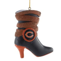 Chicago Bears Team Boot Ornament