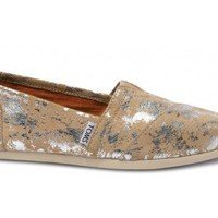 TOMS+ Sand Brushed Metal Women's Classic