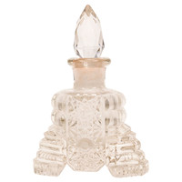 One Kings Lane - Beyond the Looking Glass - Antique Cut Glass Perfume Bottle