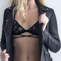 EastNWestLabel Midnight Bra