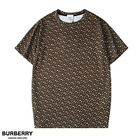 Burberry New fashion more letter print couple top t-shirt