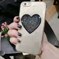 Women Twinkle iPhone 7 7Plus & iPhone se 5s 6 6 Plus Case Best Protection Cover +Gift-B01
