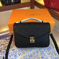 louis vuitton lv women leather shoulder bag satchel tote bag handbag shopping leather tote crossbody satchel shouder bag 48