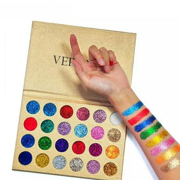 Verônni Diamond Glitter Pressed Eyeshadow Palette
