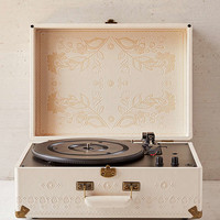 Crosley X UO Floral Embossed Portable USB Vinyl Record Player - Urban Outfitters