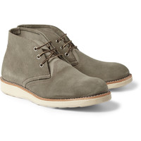 Red Wing Shoes Chukka Rubber-Soled Suede Boots | MR PORTER