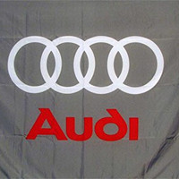 Audi Checkered Automotive Banner Flag Sign