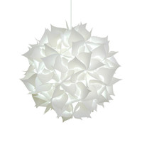 Deluxe Spades Swag Pendant Light Kit - Cool white glow