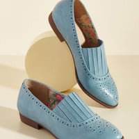 Anything but Expected Loafer | Mod Retro Vintage Flats | ModCloth.com