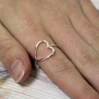 Love Heart Valentine's Day Ring, By hot2own
