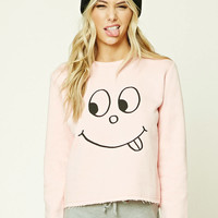 Googly-Eyed Face Graphic PJ Top