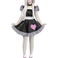 Broken China Doll Adult Womens Costume – Spirit Halloween