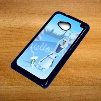 Hello olaf Starbucks For Htc One M7 Case *76*