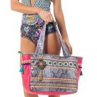Mar de Peru Bag - Handmade Designer Beach Bag
