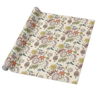 Hedgehog Field Wrapping Paper