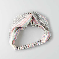 AEO Stripe Turban Headband, Multi