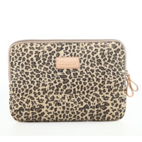 """Leopard Notebook Pouch Fabric Sleeve Bag Case for Macbook Laptop  10"""" 11"""" 12""""13"""" 14"""" 15.6"""""""